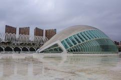 2011 8th наука valencia фото в октябре города искусств принятый Испанией Стоковая Фотография RF