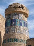 10th 2011 предпосылок украсила изолировано июнь старый над белизной фото принятой штендером Стоковые Изображения