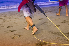 18th 2008 приставают серферы к берегу фото padre в ноябре острова принятые texas Стоковые Изображения