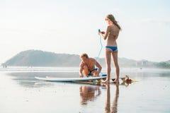 18th 2008 приставают серферы к берегу фото padre в ноябре острова принятые texas Стоковое Изображение