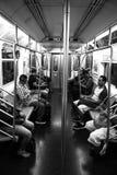 34th станция метро Нью-Йорк дворов Гудзона улицы Стоковые Изображения RF