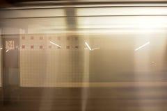 34th станция метро улицы - NYC Стоковое фото RF
