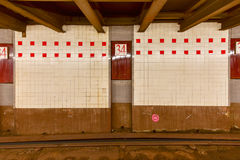 34th станция метро улицы - NYC Стоковые Изображения RF