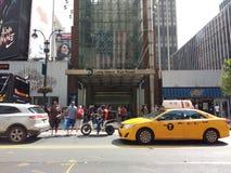34th станция Пенна улицы, железная дорога Лонг-Айленд, MTA LIRR, NYC, США Стоковая Фотография RF