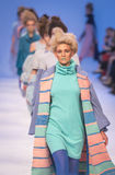 38th украинская неделя моды в Kyiv, Украина Стоковые Изображения RF