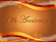 th 50 годовщин Стоковое Изображение