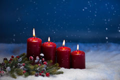 4th Advent Royalty Free Stock Image