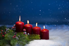 4th Advent Royalty Free Stock Images