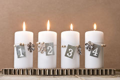 4th Advent Royalty Free Stock Photography