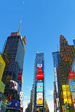 7th alei i Broadway drapacze chmur Zdjęcie Stock