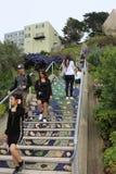 16th aleja Taflujący kroki Projektują golden gate wzrostów teren SanFrancisco Zdjęcie Stock
