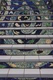 16th aleja Taflujący kroki Projektują golden gate wzrostów teren SanFrancisco Zdjęcia Stock
