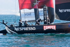 34th America's Cup World Series 2013 in Naples Stock Photography