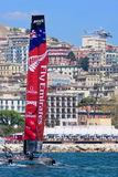 34th America's Cup World Series 2013 in Naples Stock Photo