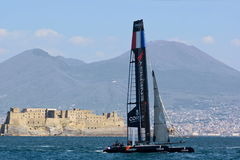 34th America's Cup World Series 2013 in Naples Stock Images
