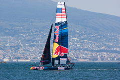 34th America's Cup World Series 2013 in Naples Stock Image