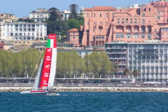 34th America's Cup World Series 2013 in Naples Royalty Free Stock Images