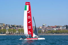 34th America's Cup World Series 2013 in Naples Royalty Free Stock Photos