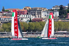 34th America's Cup World Series 2013 in Naples Royalty Free Stock Photography