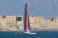 34th America's Cup World Series 2013 in Naples Royalty Free Stock Image
