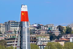 34th America's Cup World Series 2013 in Naples Royalty Free Stock Photo