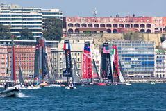 34th Americas Cup World Series 2013 in Naples Stock Photos