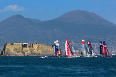 34th Americas Cup World Series 2013 in Naples Royalty Free Stock Photo