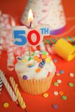 50th aniversário Imagens de Stock Royalty Free