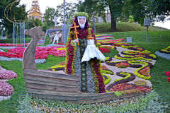 1025th aniversário da celebração de Kyivan Rus Christianity em Kiev, imagem de stock