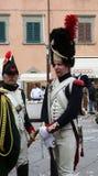 200th aniversário da chegada do ` s de Napoleon em Portoferraio, a Ilha de Elba Fotos de Stock Royalty Free