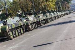 70th aniversário da libertação de Belgrado Imagem de Stock Royalty Free