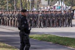 70th aniversário da libertação de Belgrado Foto de Stock