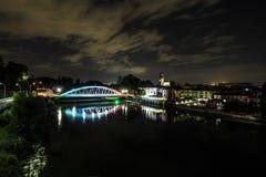 60th aniversário da ponte sobre Adda River Fotografia de Stock Royalty Free
