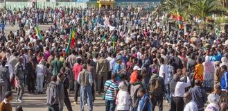 119th aniversário da vitória da batalha de Adwa Foto de Stock