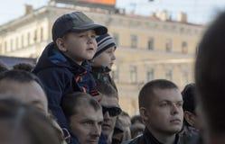 70th aniversário de Victory Day em Rússia Imagem de Stock