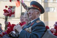 70th aniversário de Victory Day em Rússia Fotos de Stock Royalty Free