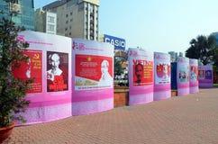 125th aniversário do nascimento de Ho Chi Minh Fotos de Stock Royalty Free