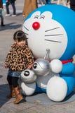 80th aniversário Doraemon Foto de Stock Royalty Free