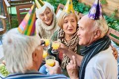 70th aniversário feliz Imagens de Stock Royalty Free