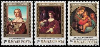 500th anniversaire de naissance de Raphael Photos stock