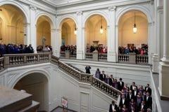 140th anniversario di arte di St Petersburg e dell'accademia di industria Immagini Stock Libere da Diritti