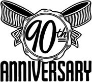 90th Anniversary Stock Photography