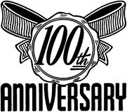 100th Anniversary Royalty Free Stock Images