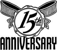 15th Anniversary Royalty Free Illustration