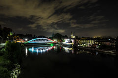 60th Anniversary Of The Bridge Over The Adda River Royalty Free Stock Photography