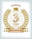 3th Anniversary Royalty Free Stock Photos
