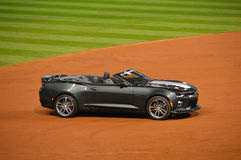 50th Anniversary Edition 2017 Camaro SS Convertible Awarded to 2016 World Series MVP Royalty Free Stock Photo