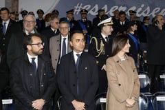 167th Anniversary of the Italian Police. Public ceremony royalty free stock photos