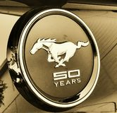 50th anniversary mustang Stock Image