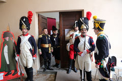 200th anniversary of the Napoleon`s arrival in Portoferraio, Elba. The Italian island where Napoleon was sent into exile in 1814 marked the 200th anniversary of Royalty Free Stock Photos